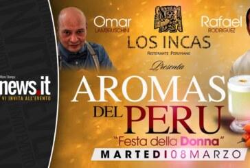 """""""Los Aromas del Perù"""": Festa della Donna dal sapore Inca"""