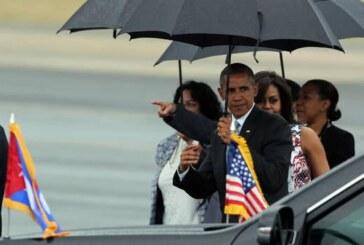 El presidente Obama llega a Cuba para apuntalar una reconciliación histórica
