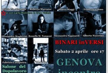 """Genova incontra Milano: Rassegna Poetica """"BINARI inVERSI"""""""