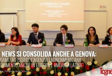 """TCG News si consolida anche a Genova: """"Puntiamo ad essere l'agenzia latinoamericana di riferimento anche in Europa e AL"""""""