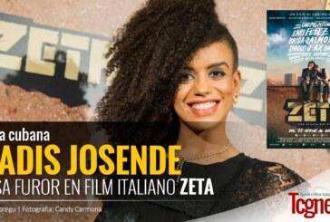 Eradis Josende, artista cubana causa furor en ZETA, film rap italiano