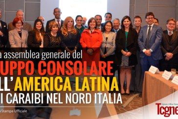 Prima Assemblea Generale del Gruppo Consolare dell'America Latina e dei Caraibi nel Nord Italia