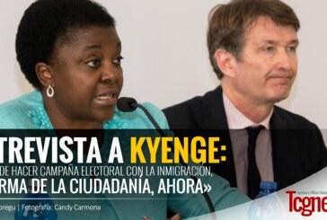Kyenge: «Basta de hacer campaña electoral con la inmigración, Reforma de la ciudadanía, AHORA»