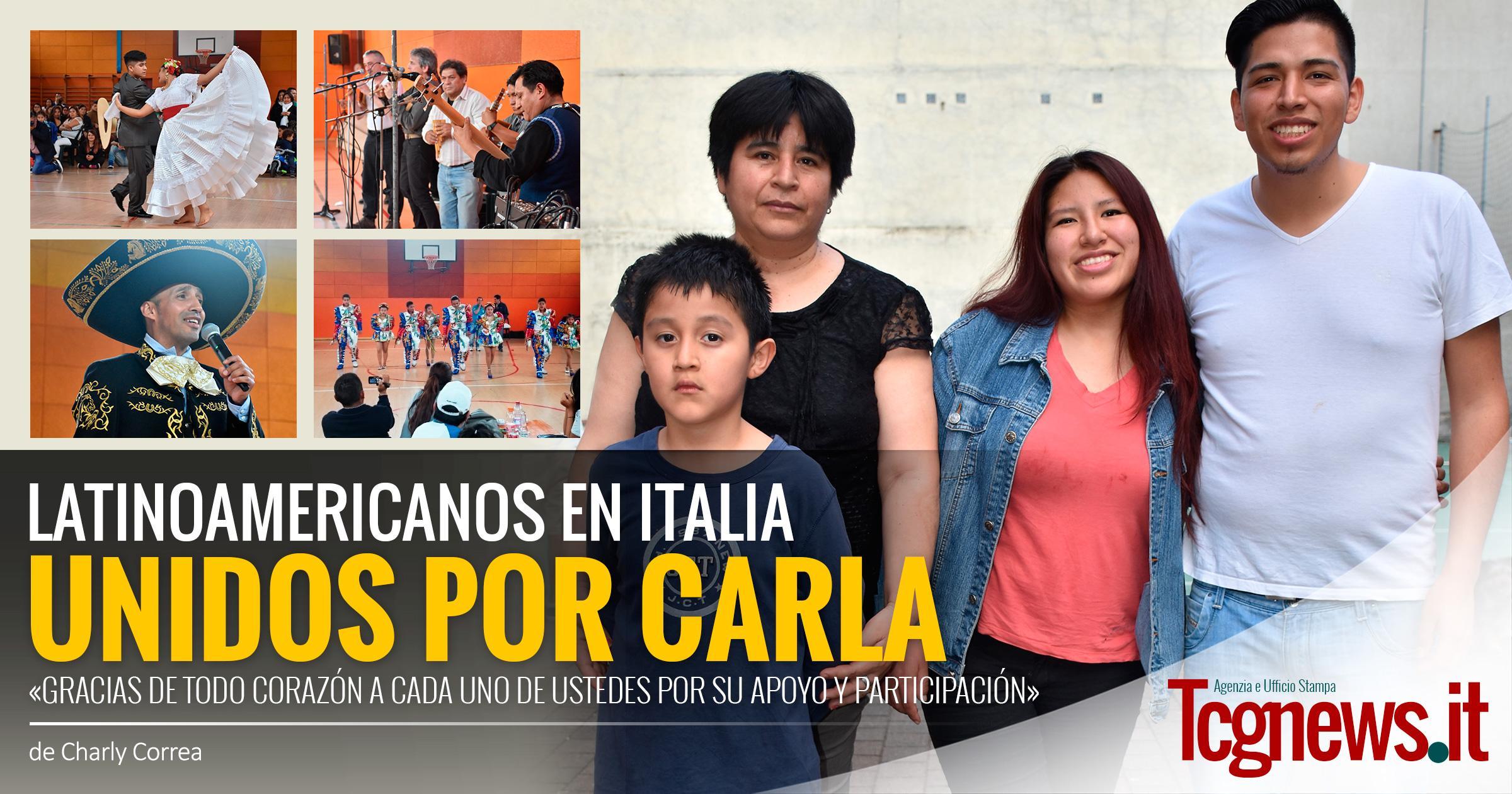 Latinoamericanos unidos por Carla: «Gracias de todo corazón a cada uno de ustedes por su apoyo y participación»