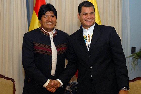 Congreso  de los Movimientos Sociales recibe la participación de Rafael Correa y Evo Morales