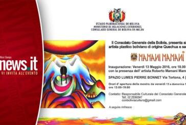 Mamani Mamani: mostra pittorica dell'artista plastico boliviano di origine Quechua e sangue Aymara