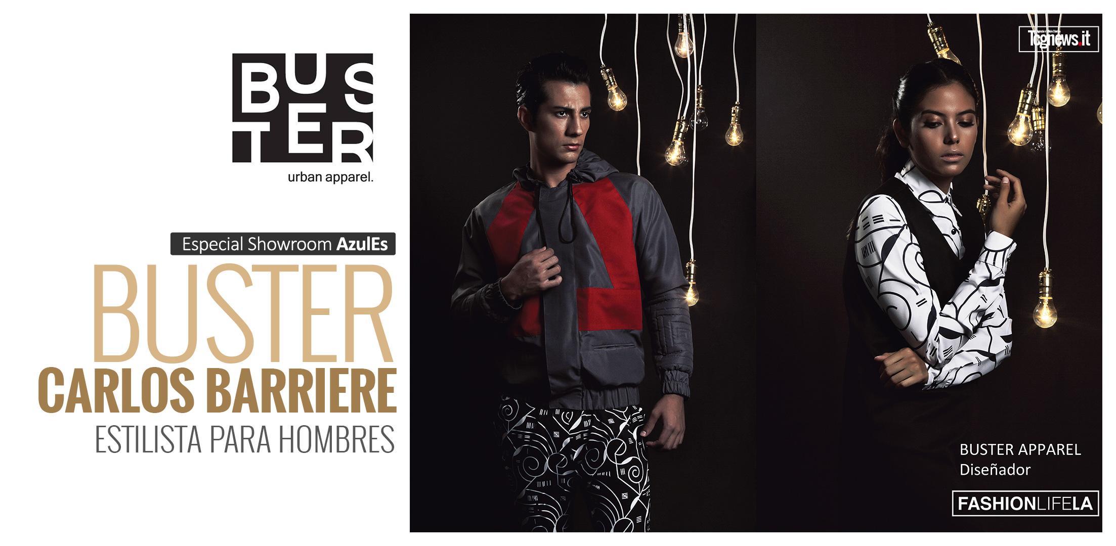 BUSTER / CARLOS BARRIERE: Estilista para hombres