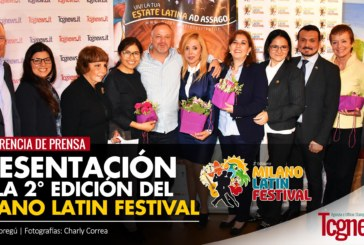 Presentación oficial de la II Edición del Milano Latin Festival