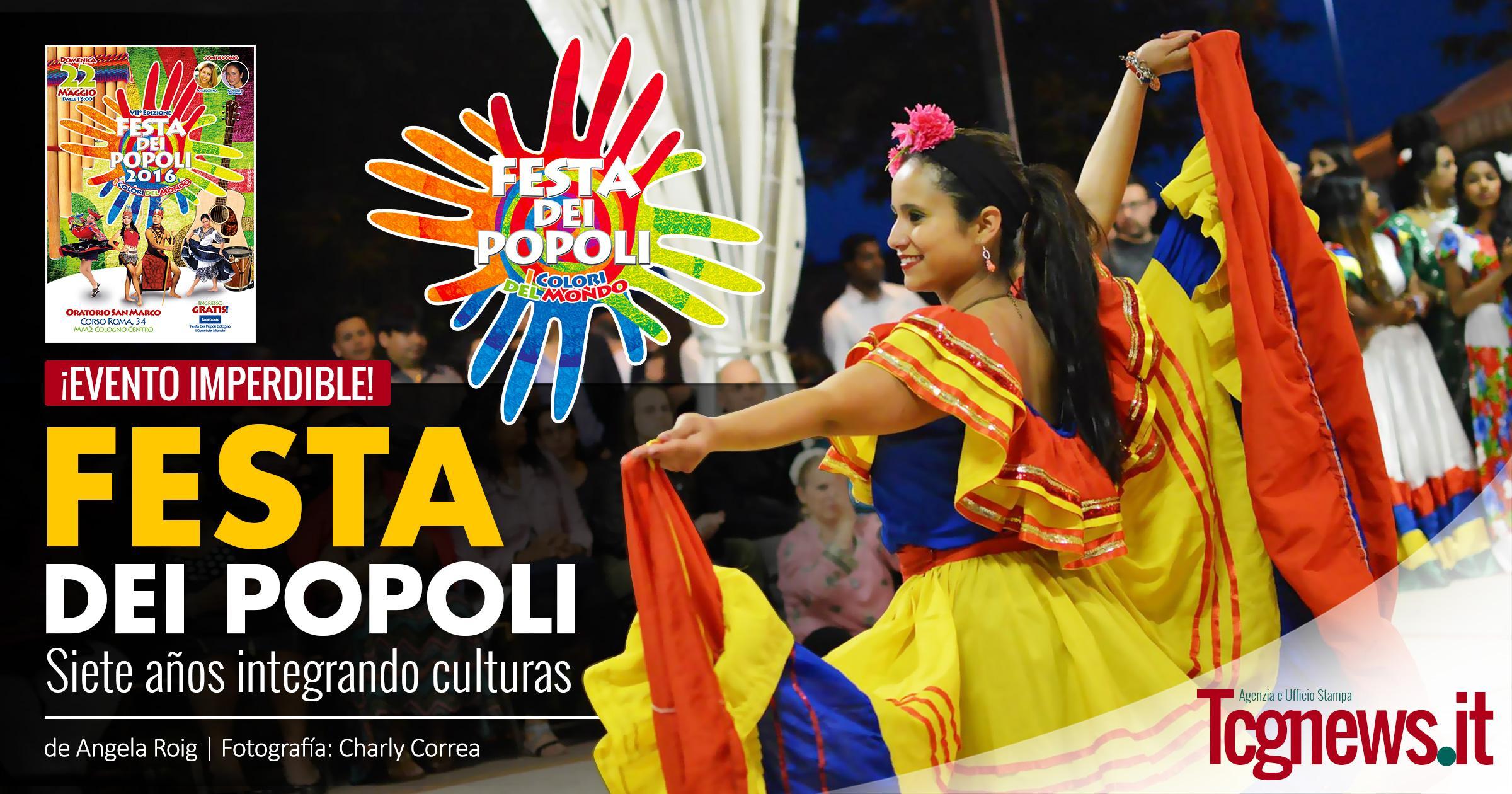 La Festa dei Popoli, siete años integrando culturas