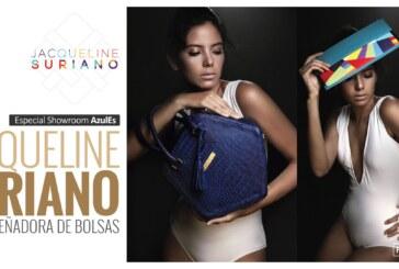 Showroom AzulES:  Jacqueline Suriano presenta su linea de carteras y accesorios en Milán