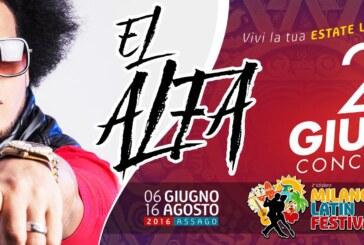 EL ALFA: in concerto al Milano Latin Festival mercoledì  29 giugno 2016