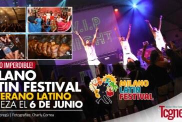 Milano Latin Festival, el verano latino empieza el 6 de junio