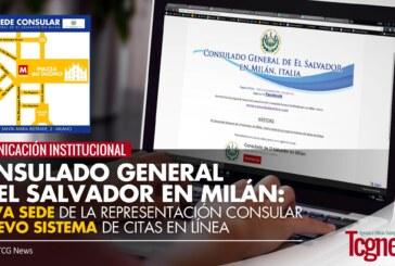 Nueva sede de la Representación Consular de El Salvador y Nuevo sistema de citas en línea