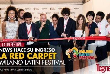 TCG News hace su ingreso a la red carpet del Milano Latin Festival – 2da edición