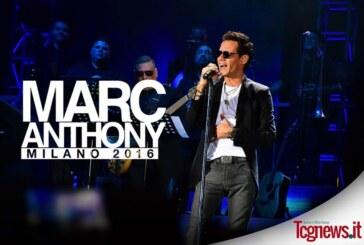 Marc Anthony hizo vibrar el Assago Summer Arena de Milán