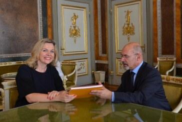 Zeljana Zovko l'ambasciatrice della Bosnia visita Genova