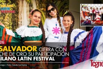 El Salvador cierra con broche de oro su participación al Milano Latin Festival