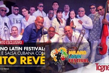 Milano Latin Festival, Timba e salsa cubana con ELITO REVÉ