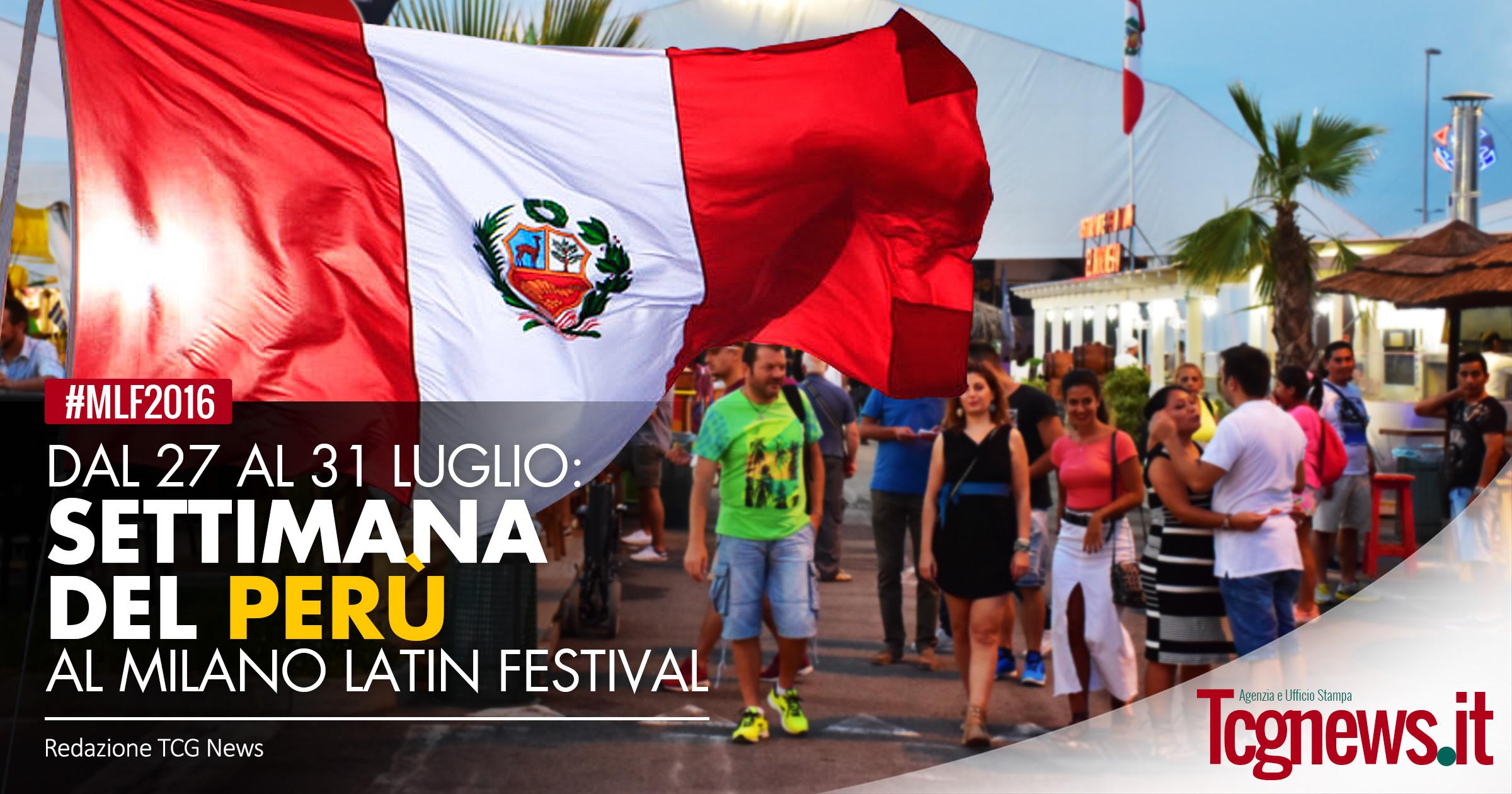 Inizia la settimana del peru 39 al milano latin festival for Settimana del design milano 2016