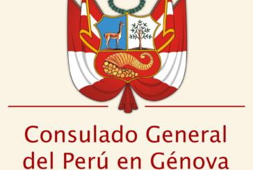Mensaje del Nuevo Cónsul General del Perú en Génova Alejandro Ugarte Valverde