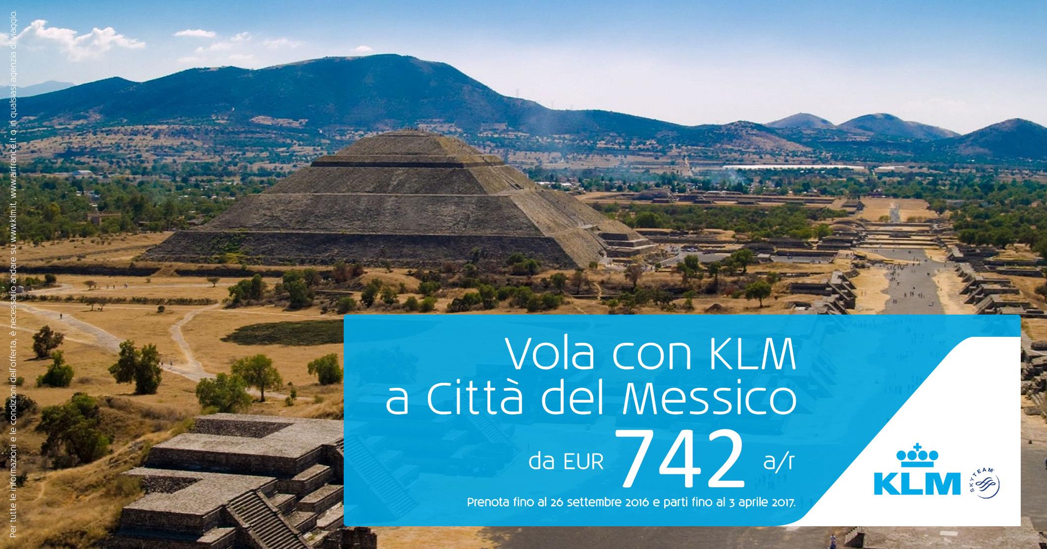 Il Gruppo Air France – KLM per il Messico