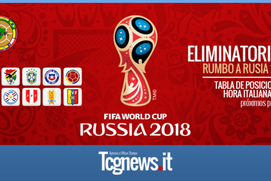 Eliminatorias Rusia 2018: Hora italiana de los partidos