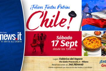 Chile celebra sus fiestas patrias en Milán