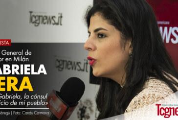 Entrevista a la Cónsul General de Ecuador en Milán: «Soy Gabriela, la cónsul al servicio de mi pueblo»