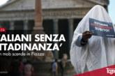 'Italiani Senza Cittadinanza', il flash mob scende in Piazza