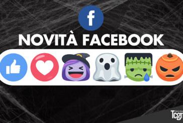 Facebook introduce le maschere di Halloween per le dirette e un nuovo set di Reazioni