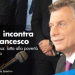 Presidente argentino incontra Papa Francesco, agenda condivisa: lotta alla povertà e al narcotraffico