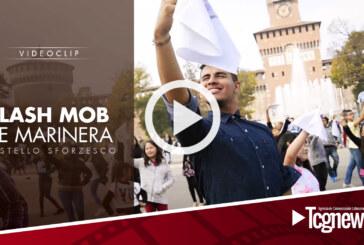 FlashMob de Marinera en Milán 2016 (Piazza Castello)