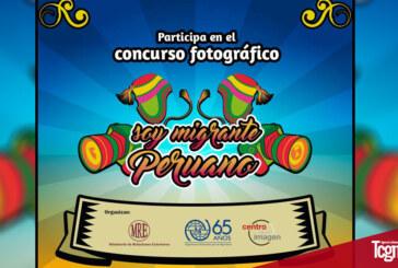 """Concurso de Fotografía Internacional """"SOY MIGRANTE PERUANO"""""""