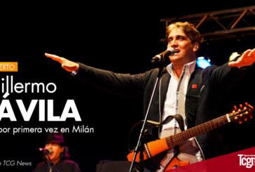 Guillermo Dávila canta por primera vez en Milán