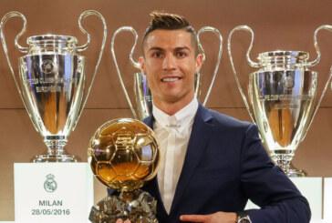 """Ronaldo gana su cuarto Balón de Oro en """"el mejor año"""" de su carrera"""