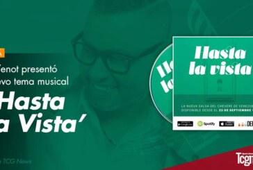 """Ivan Venot presentó su nuevo tema musical """"Hasta la Vista"""""""