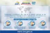Ecuatorianos en Milán: Todo sobre las elecciones generales 2017