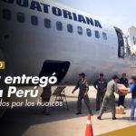 Ecuador entregó ayuda a Perú para damnificados por los huaicos