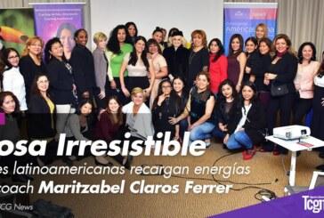 """""""Diosa Irresistible"""", líderes latinoamericanas recargan energías con coach Maritzabel Claros"""