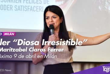 """Taller """"Diosa irresistible"""" con Maritzabel Claros Ferrer el próximo 9 de Abril en Milán"""