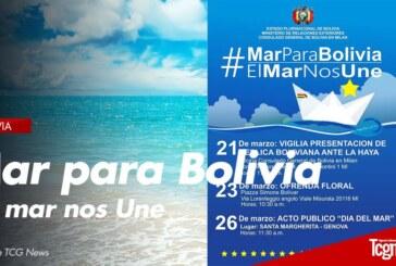 El Consulado General de Bolivia en Milán Conmemora el Día del Mar