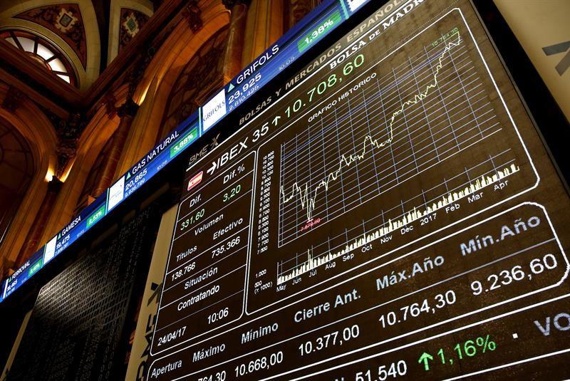 El euro sube a máximos desde hace 5 años y las bolsas ganan notablemente