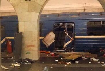 Al menos diez muertos en una explosión en el metro de San Petersburgo