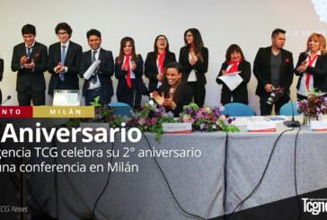 La Agencia TCG News celebra su 2° aniversario con una conferencia en Milán
