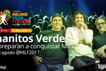 CONFIRMADO: Este 13 de agosto los Enanitos Verdes conquistarán Milán
