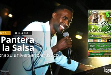 La Pantera de la Salsa celebra el sábado 15 de abril su aniversario artístico