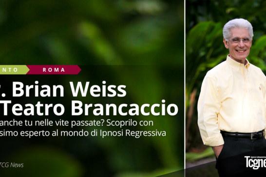 Dr. Brian Weiss al Teatro Brancaccio: Il massimo esperto al mondo di Ipnosi Regressiva