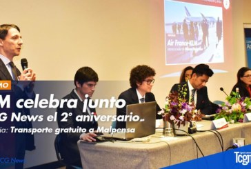 La Agencia TCG News Italia celebra el 2° aniversario junto al grupo Air France KLM