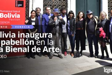 Bolivia inaugura su pabellón en la 57a Bienal de Arte en Venecia