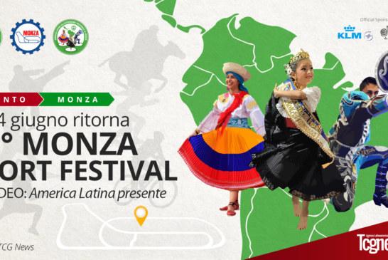 3 e 4 giugno ritorna la 42° Edizione del MONZA SPORT FESTIVAL